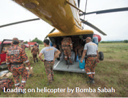 Loading on helicopter by Bomba Sabah-Image 5