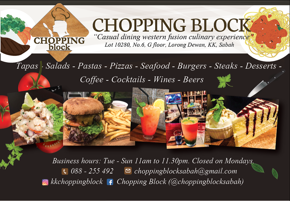 Chopping Block B360 2017