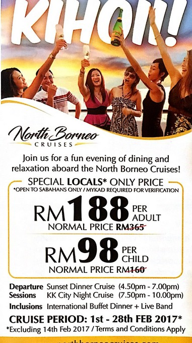 North Borneo Cruise