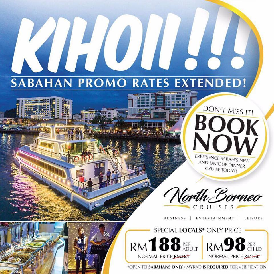 North Borneo Cruises Extended