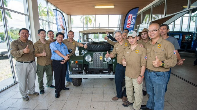 The Land Rover-Official Launching Ceremony