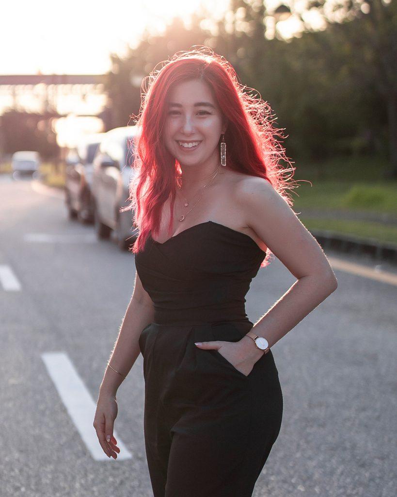 Calista Liew Hitz FM  Model